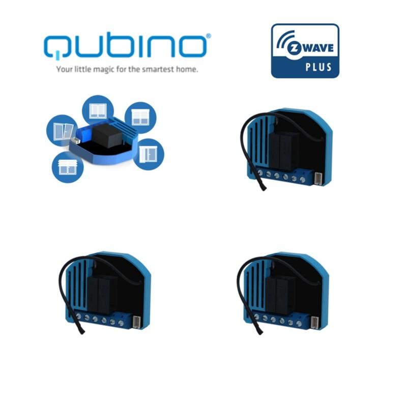 Pack Edi 4 Modules Qubino Pour Volet Roulant Z Wave Plus