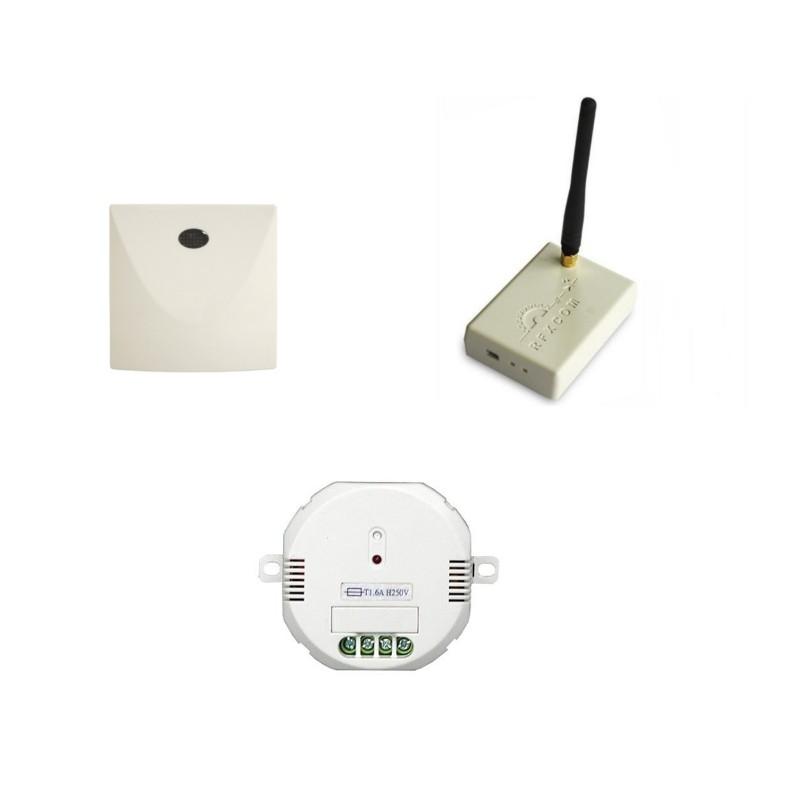 PACK EDI - RFXCom avec micro-module ON/OFF et relais Di-O