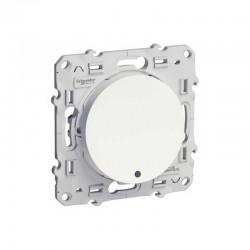 Interrupteur Va et Vient Schneider de la gamme Odace avec LED témoin