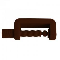 Petit Serre Joint PLA couleur marron.  Fabriqué en Alsace.