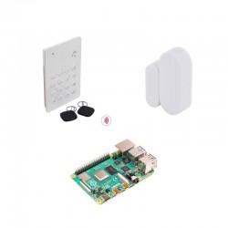 Pack pré-configuré détecteurs d'ouverture porte/fenêtre et clavier RFID avec Domoticz