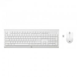 HP - Clavier et souris blanc HP C2710 Combo