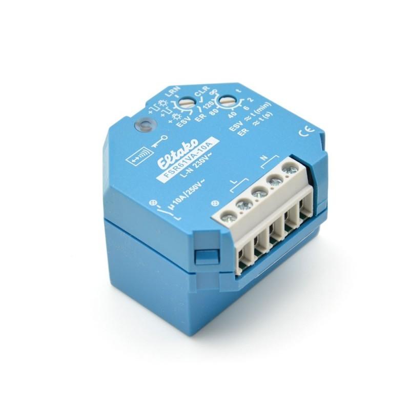 ELTAKO - Actionneur EnOcean Télérupteur avec Mesure de Courant FSR61VA-10A