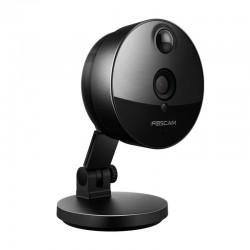 FOSCAM - Caméra IP intérieure Wi-Fi C1 Noire