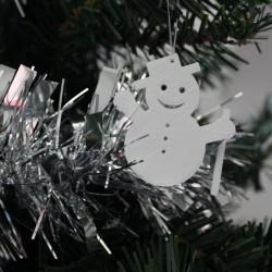 Décoration de sapin, Bonhomme de neige
