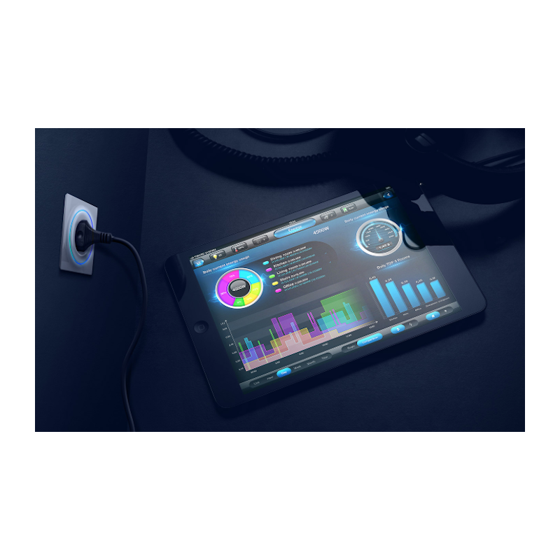 FIBARO - Interrupteur intelligent pour volet roulant Z-Wave+ Walli Roller Shutter Anthracite