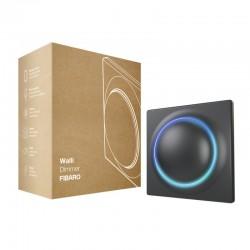 FIBARO - Interrupteur variateur intelligent Z-Wave+ Walli Dimmer Anthracite
