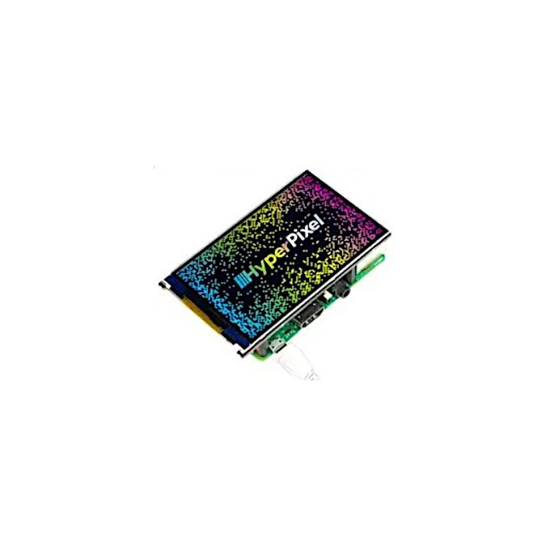 PIMORONI - Ecran Haute Résolution Hyper Pixel 4 pour Raspberry Pi