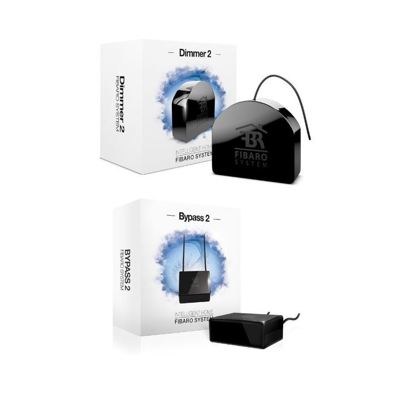 PACK EDI - Fibaro Module Dimmer 2 avec ByPass