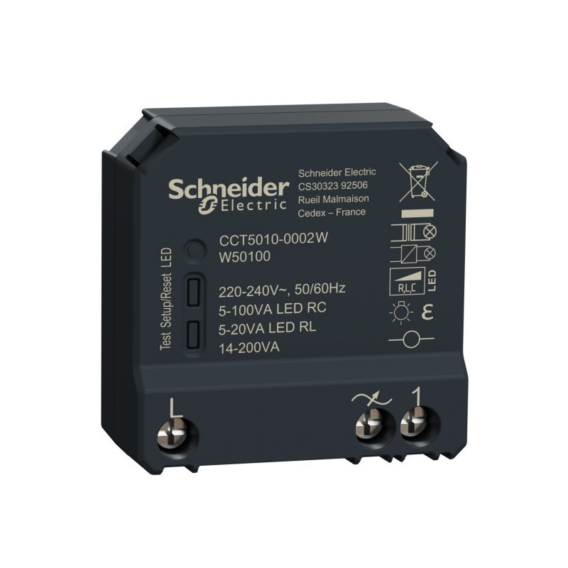 SCHNEIDER - Micromodule variateur éclairage Wiser ZigBee 3.0