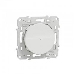 SCHNEIDER - Interrupteur variateur connecté Wiser ZigBee Blanc 3.0