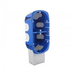 BLM - Boîtier d'encastrement double pour micromodule