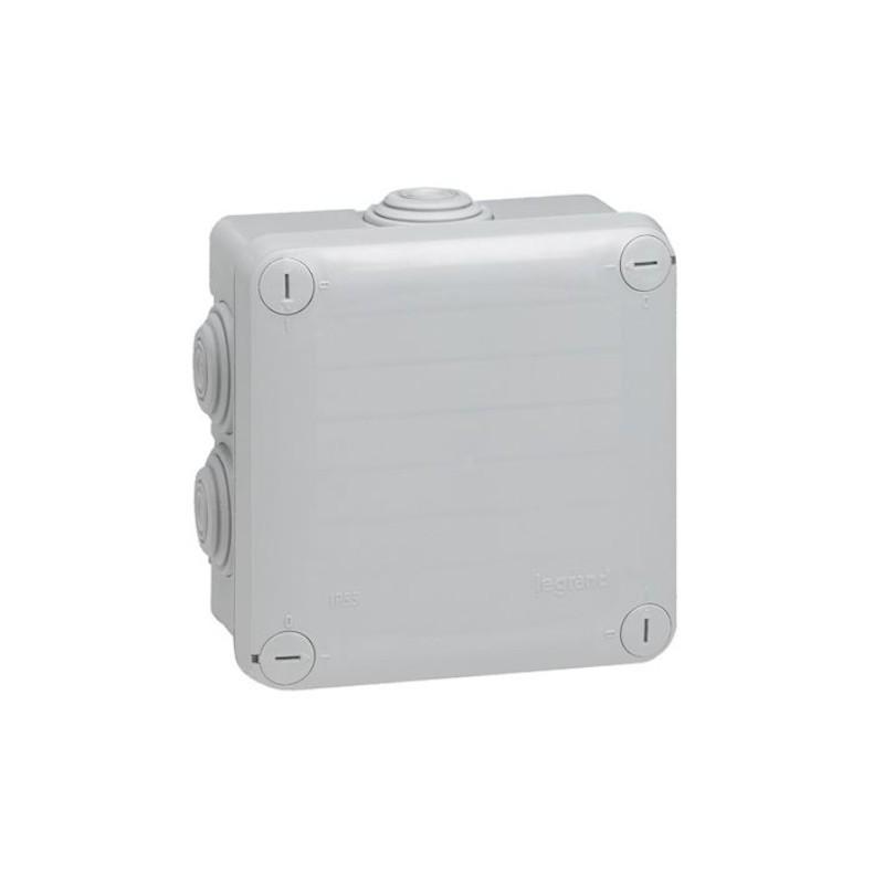 LEGRAND - Boite de dérivation étanche Plexo Gris 105x105x55mm