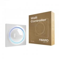 FIBARO - Interrupteur mural Blanc sans fil Z-Wave+ 700 Fibaro Walli Controller