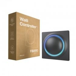 FIBARO - Interrupteur mural sans fil Z-Wave+ 700 Fibaro Walli Controller Anthracite