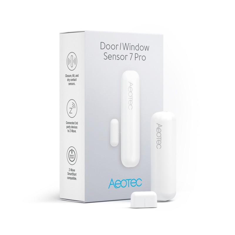 AEOTEC - Capteur d'ouverture porte fenêtre Z-Wave+ 700 Door Window Sensor 7 Pro