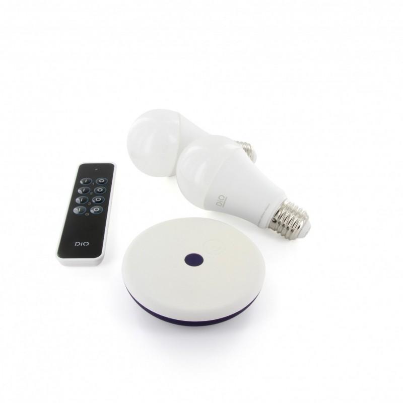 DIO - Pack ampoules connectées avec box DiO Home Plus