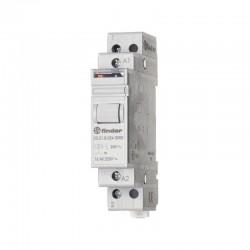FINDER - Télérupteur pour profilé 1 NO (T) 12 VDC 16 A 4000 VA