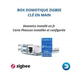 PACK EDI - Pré-Configurée Box domotique ZigBee Domoticz