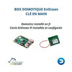 PACK EDI - Pré-Configurée  Box domotique EnOcean Domoticz