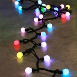 FESTILIGHT -  Trendy Guirlande caps RGB pastel animé L10m 230V